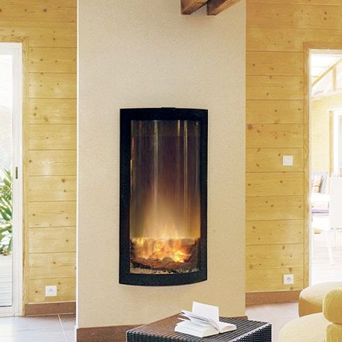 Picture of High Glass Fireplace