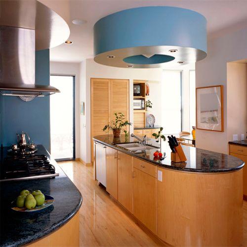 Picture of Futuristic Kitchen Set