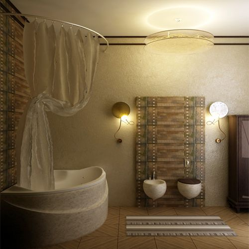 Picture of Fancy Bathroom Set