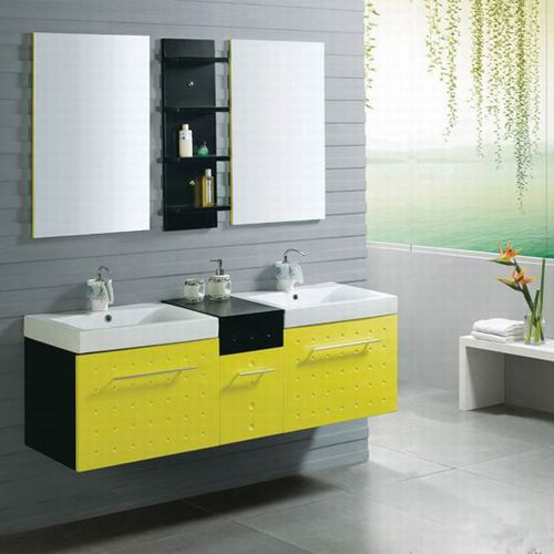 Picture of Double Sink Bathroom Set