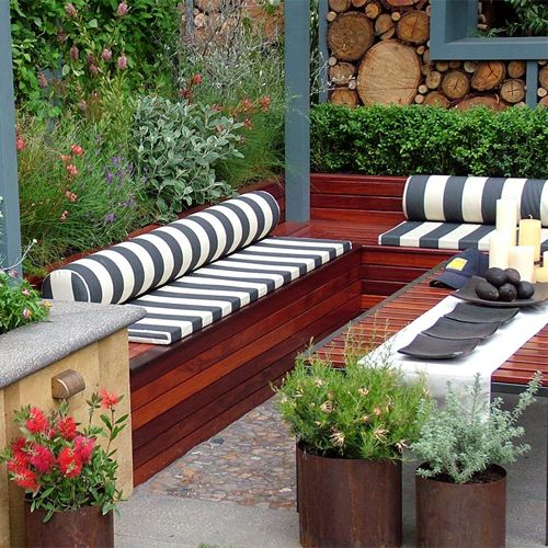 Picture of Patio Cushions Bench
