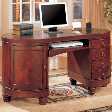 Picture of Round Home Desk